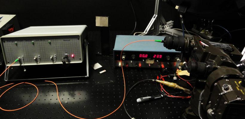 Range Finder Test (telemetro)