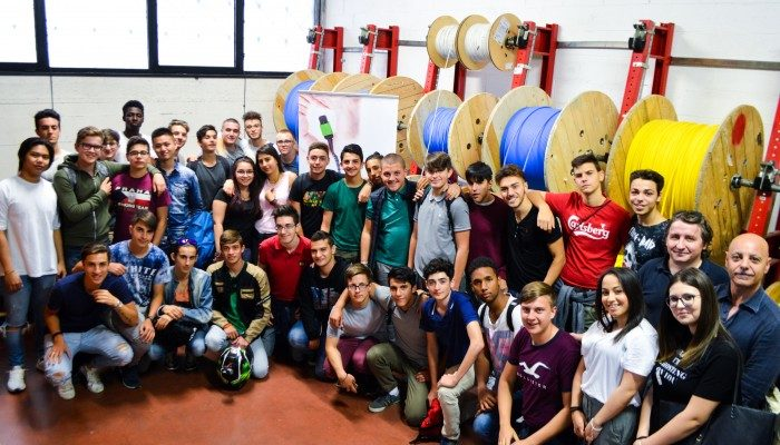 Fibernet dà il benvenuto all'ITIS Enrico Fermi di Roma