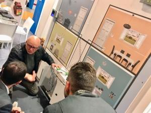 Giancarlo Trinei spiega il Multifiber Building