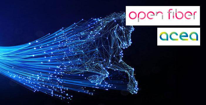 Open Fiber-Acea, patto da 1,2 milioni di case
