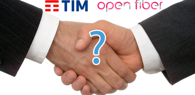 Fusione TIM-Open Fiber, la situazione