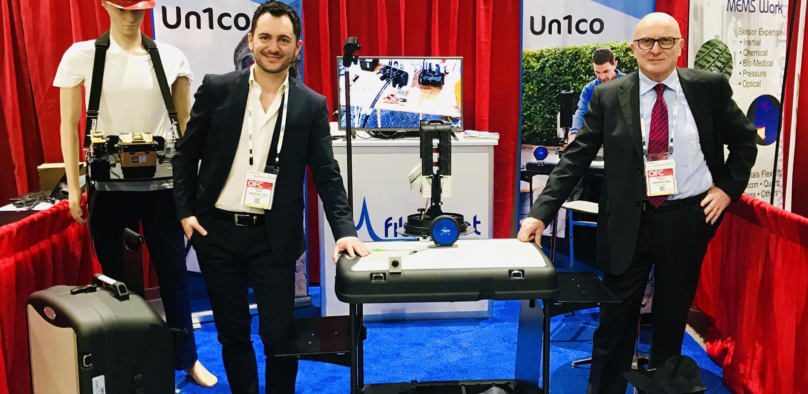 Matteo e Giancarlo Trinei all'OFC - San Diego