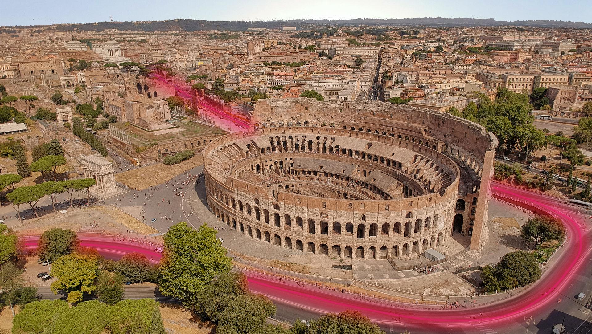 Open Fiber cablaggio FTTH Roma